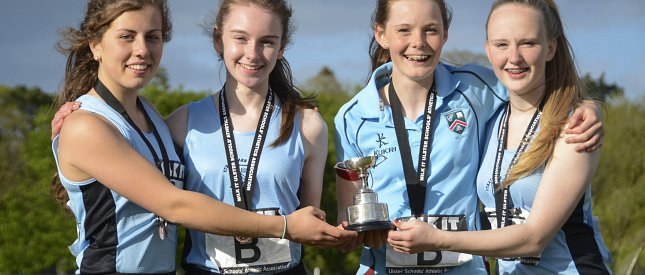 Minor and Junior Ulster Athletics Champions!