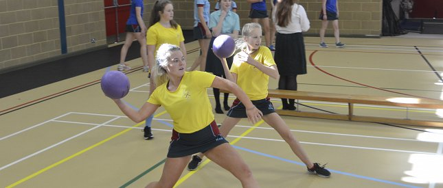 Inter House Dodgeball Results