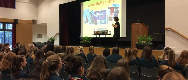 Author Visits Third Form Pupils