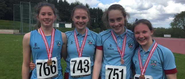Junior and Minor Co Down District Athletics Champions