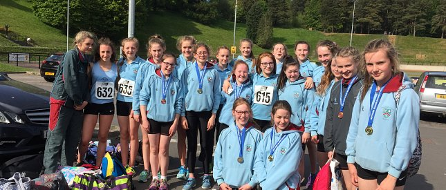 Strathearn Athletes add Mini and Junior Co Down titles to their list of successes so far this season.