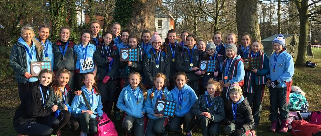 Another clean sweep for Strathearn cross country teams!