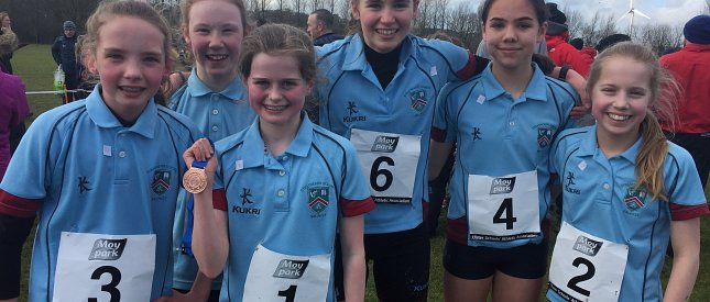 Overall Ulster Schools' Cross Country Champions for 2nd Successive Year!