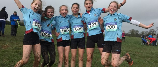 Minor Cross Country team make Strathearn history!