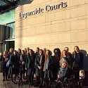 Bar Mock Trial Team Visits Laganside Courts