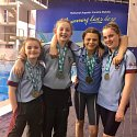 Irish Minor Schools' Swimming - Double Relay Champions