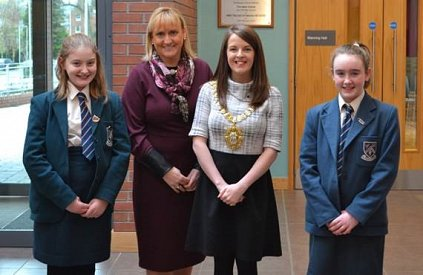 Lord Mayor Visits Strathearn